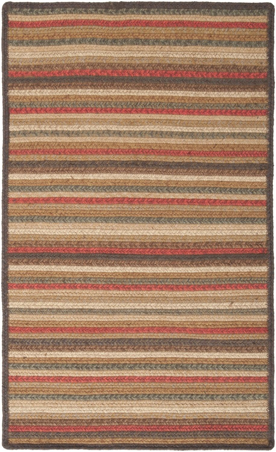 surya king george braided area rug collection