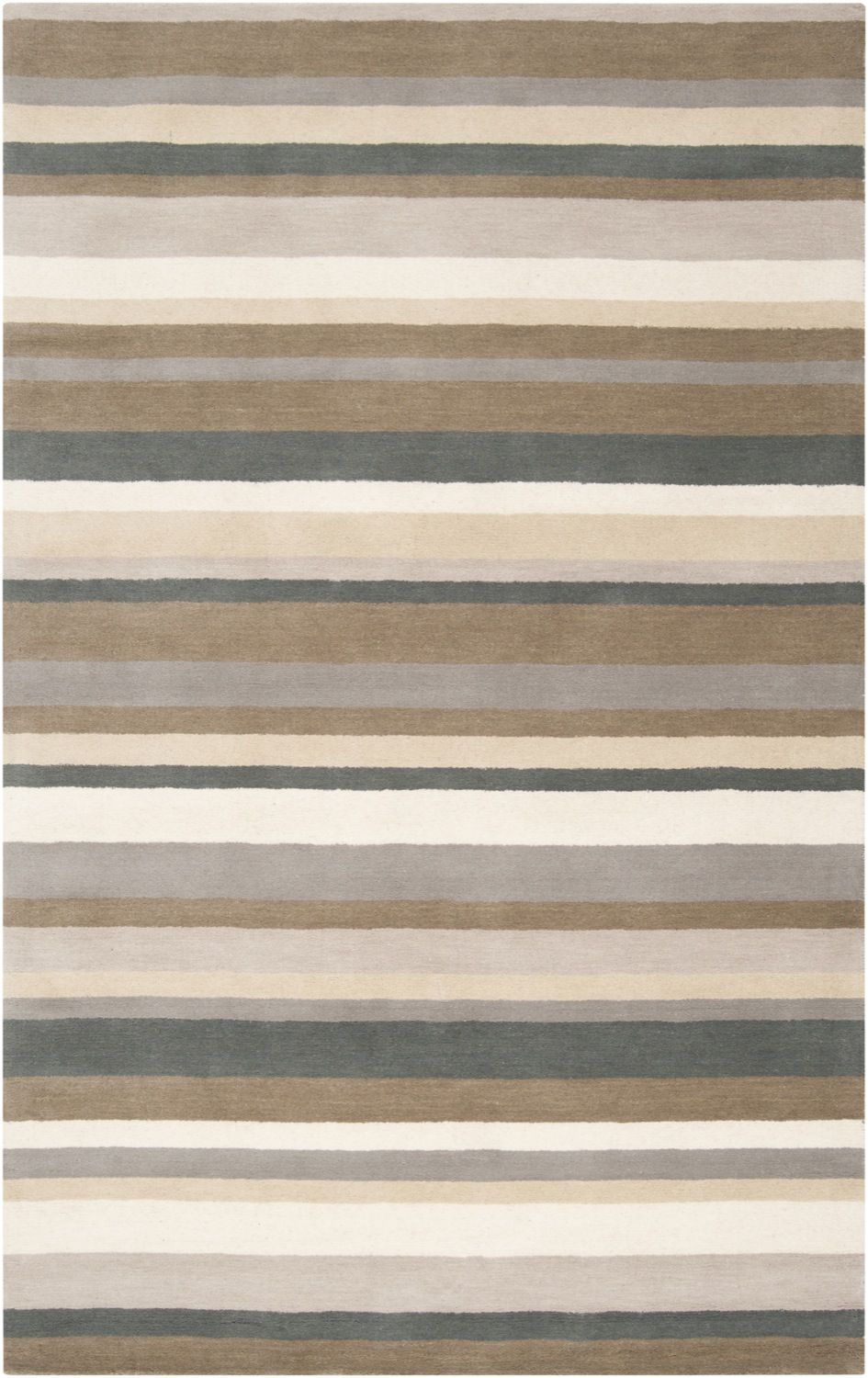 surya madison square solid/striped area rug collection