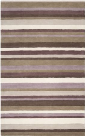 Surya Solid/Striped Madison Square Area Rug Collection