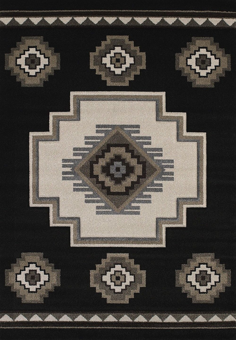 united weavers townshend southwestern/lodge area rug collection