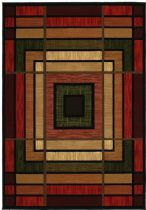 United Weavers Southwestern/Lodge Contours Area Rug Collection