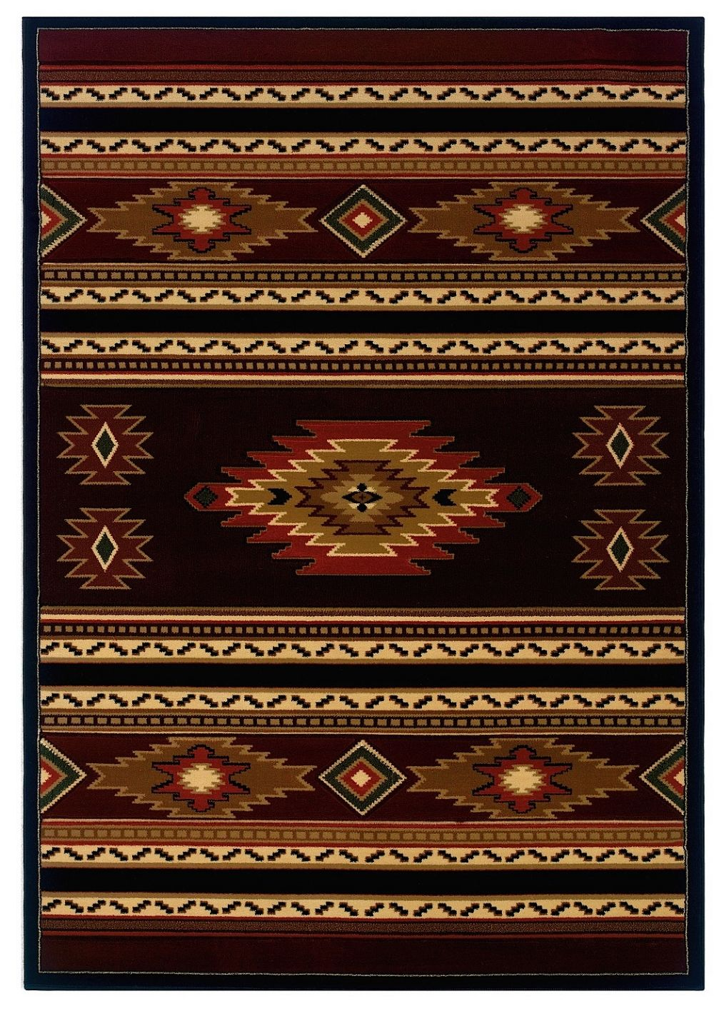 united weavers contours-cem southwestern/lodge area rug collection
