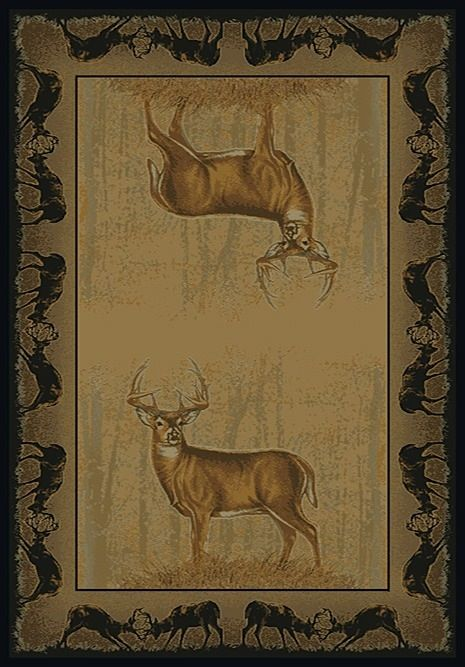 united weavers buckwear southwestern/lodge area rug collection