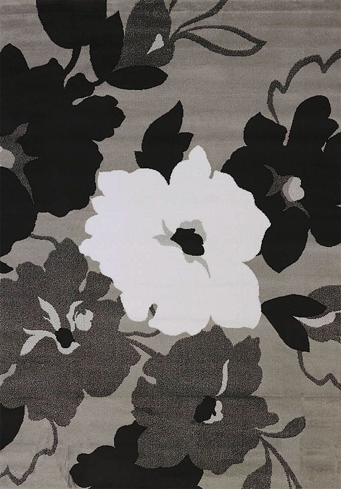 united weavers cristall  snow blossom contemporary area rug collection