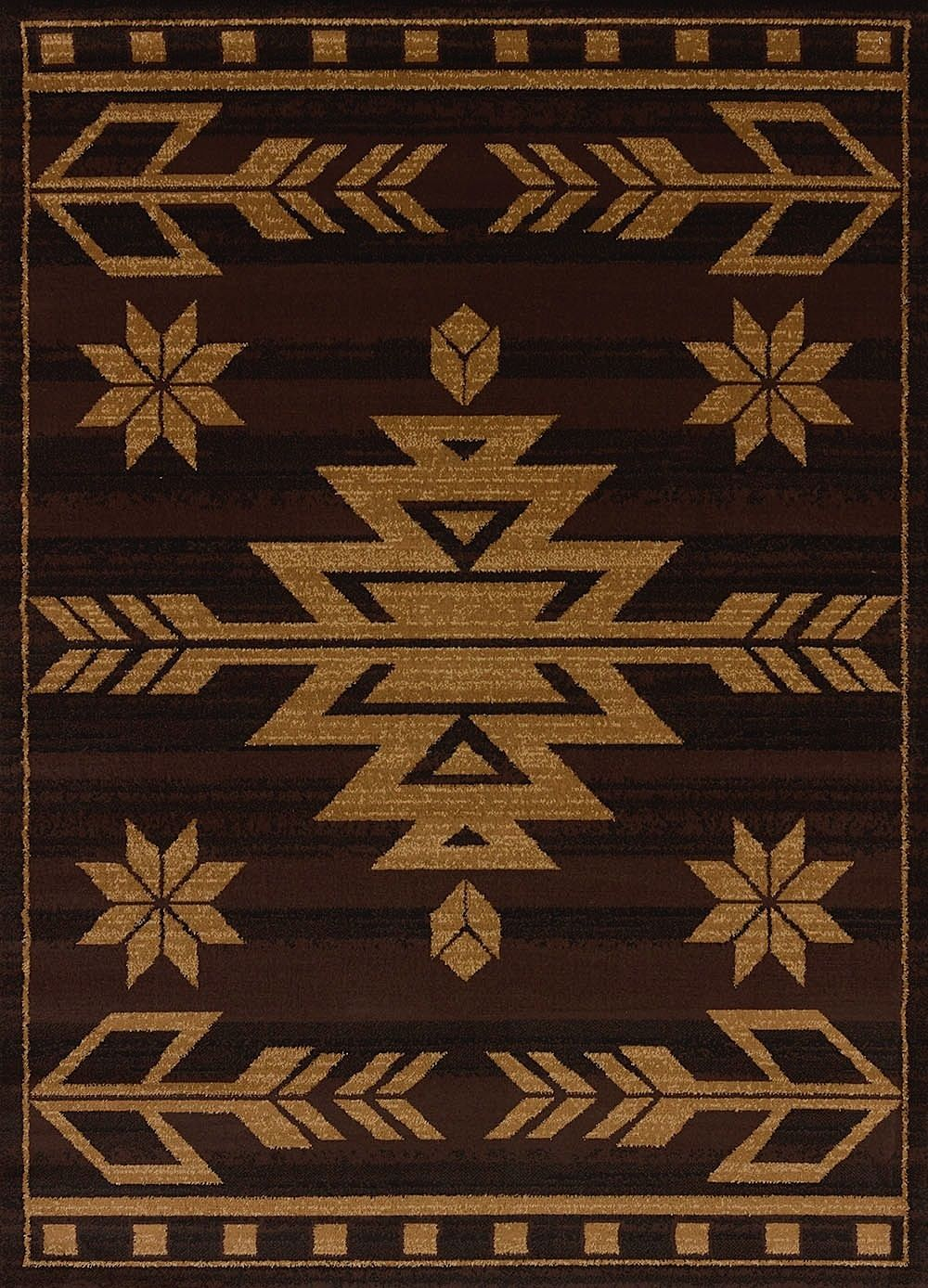 united weavers affinity southwestern/lodge area rug collection