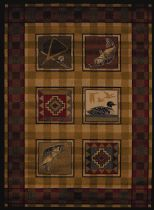 United Weavers Southwestern/Lodge Affinity Area Rug Collection