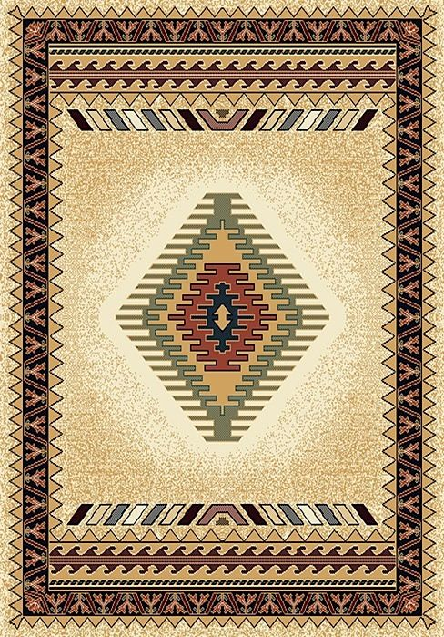 united weavers manhattan southwestern/lodge area rug collection