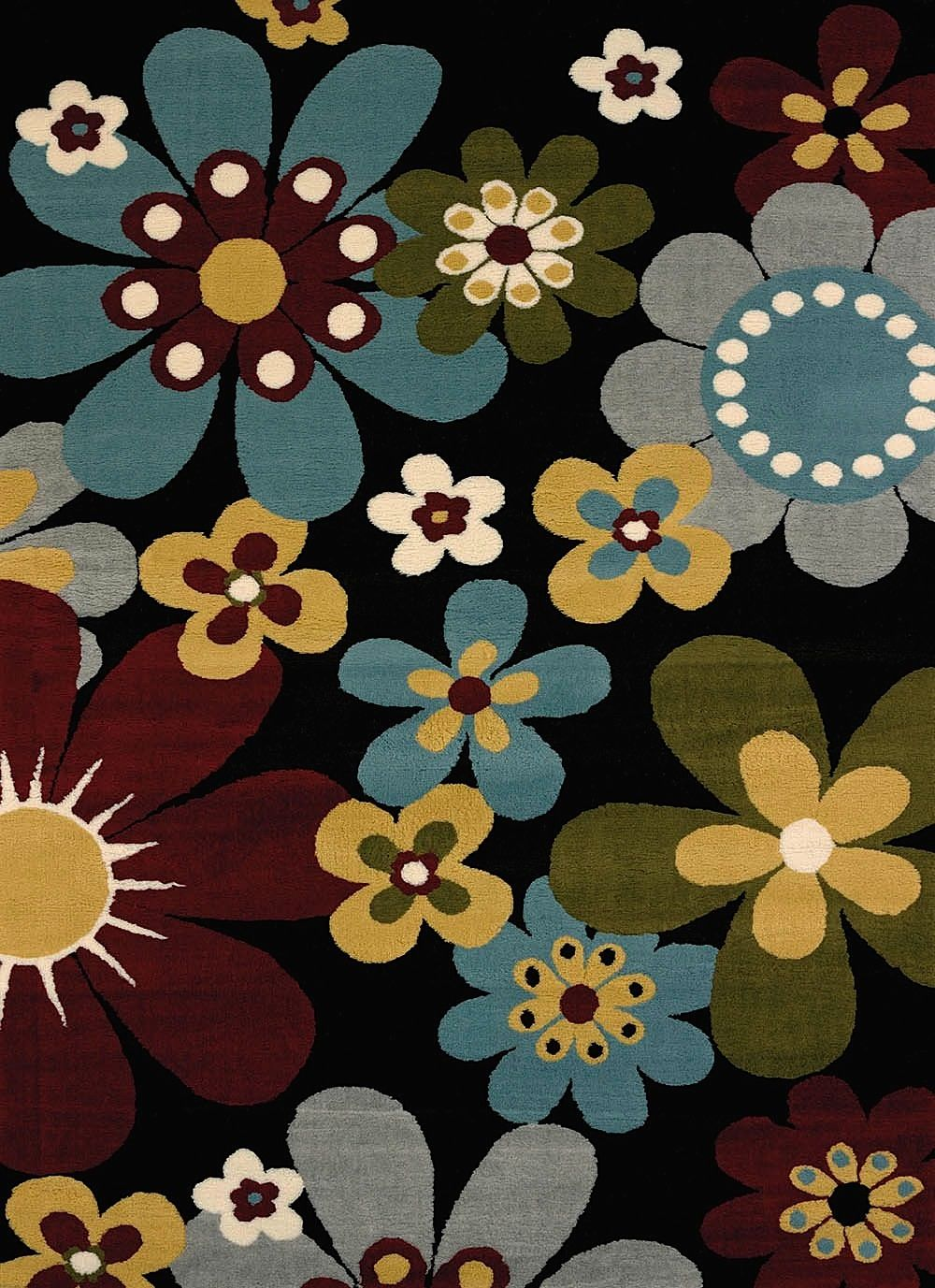 united weavers preludes country & floral area rug collection