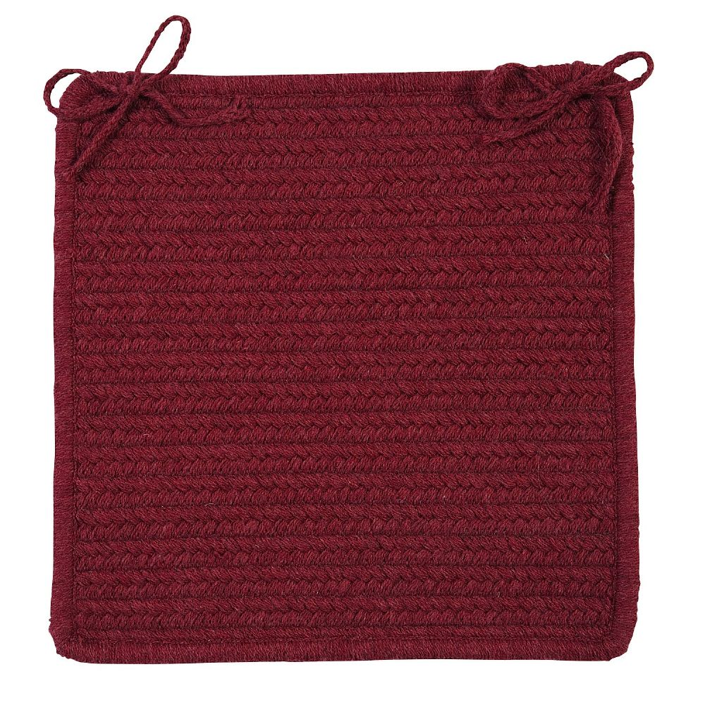 colonial mills courtyard braided chair pad collection