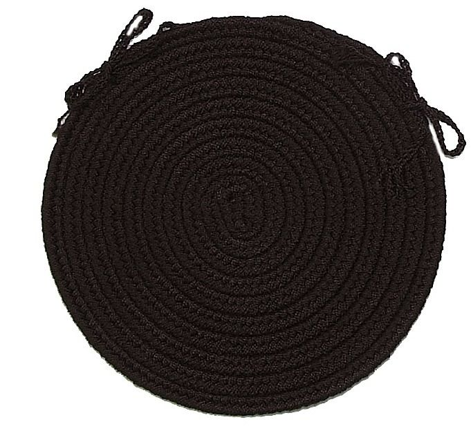 colonial mills deerfield braided chair pad collection