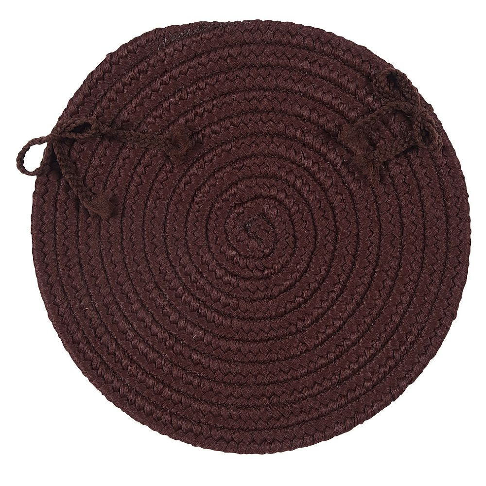 colonial mills flowers bay braided chair pad collection