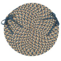 Colonial Mills Braided Pattern-Made chair pad Collection