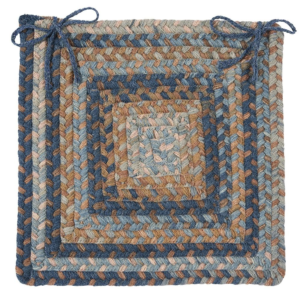 colonial mills gloucester braided chair pad collection