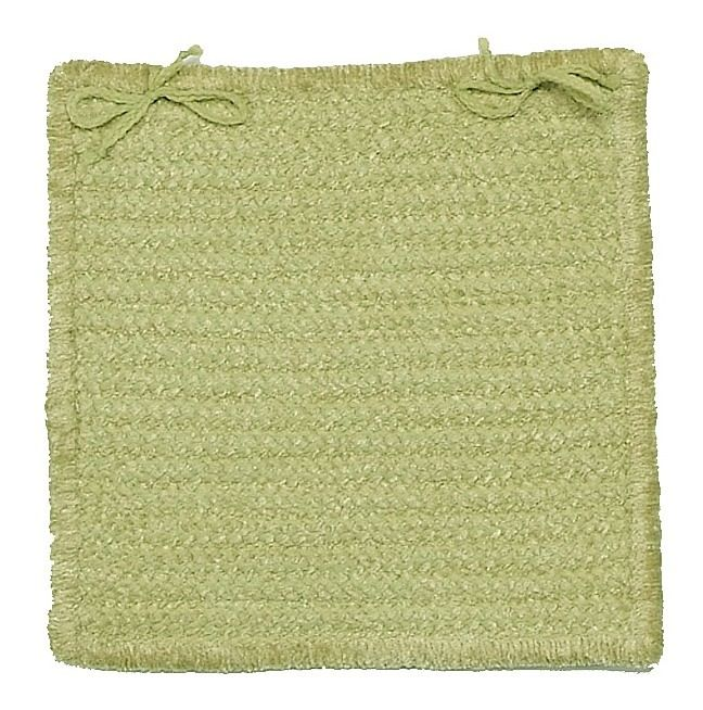 colonial mills gravel bay braided chair pad collection