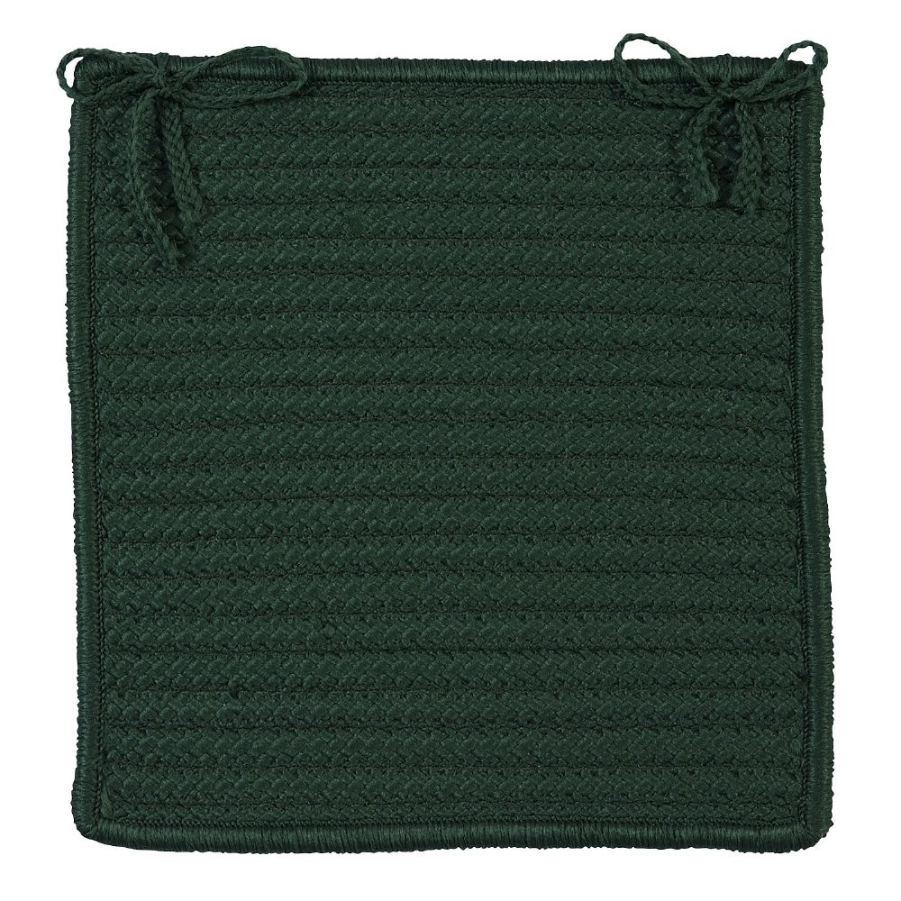 colonial mills simply home solid braided chair pad collection