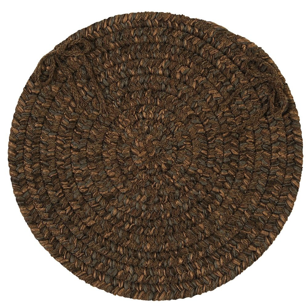 colonial mills hayward braided chair pad collection