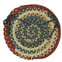 Colonial Mills Braided Market Mix chair pad Collection