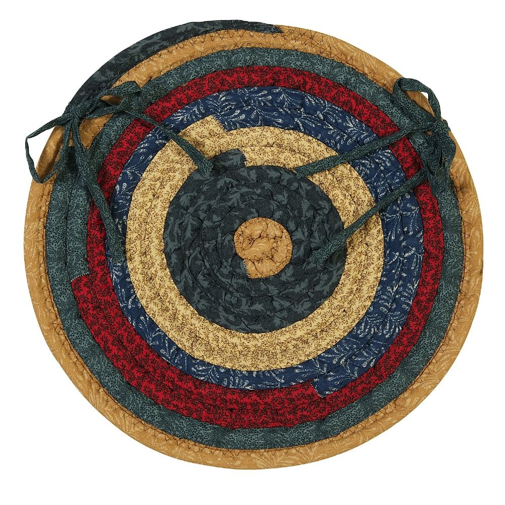 colonial mills quilters choice braided chair pad collection