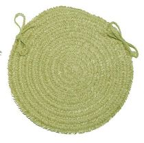 Colonial Mills Braided Spring Meadow chair pad Collection