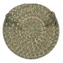 Colonial Mills Braided Tremont chair pad Collection