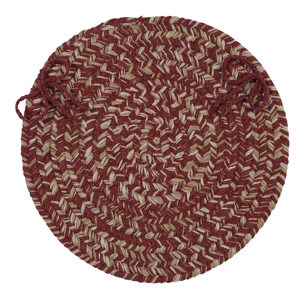colonial mills tremont braided chair pad collection