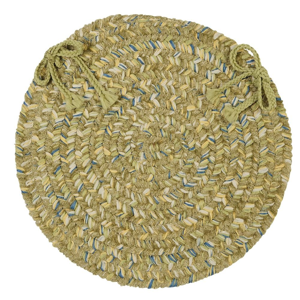 colonial mills west bay braided chair pad collection