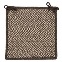 Colonial Mills Braided Natural Wool Houndstooth chair pad Collection