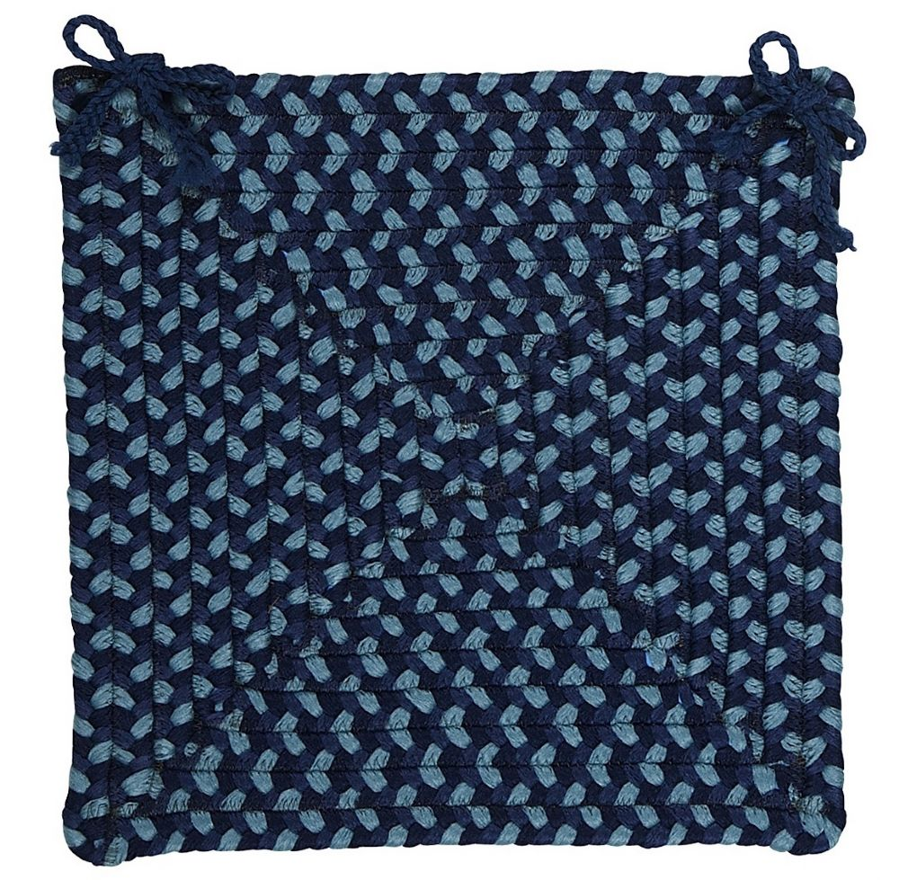 colonial mills montego braided chair pad collection