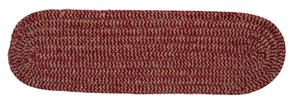 colonial mills softex check braided stair tread collection