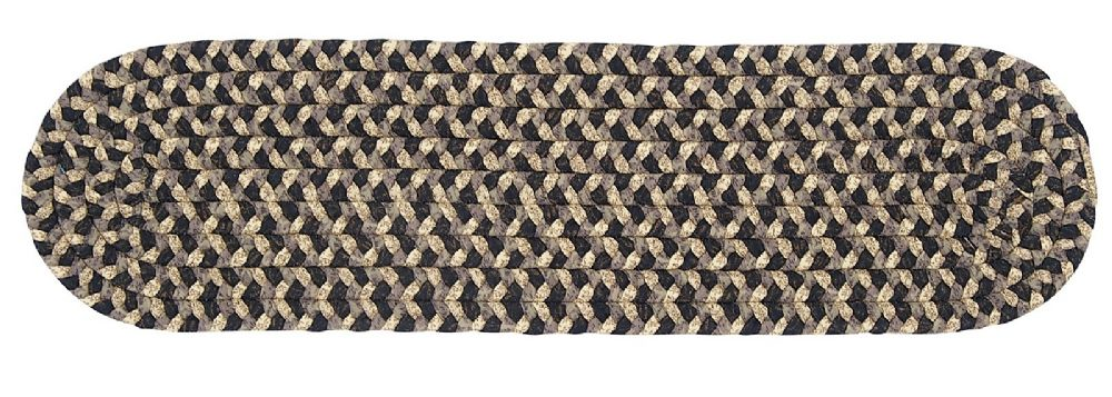 colonial mills pattern-made braided stair tread collection