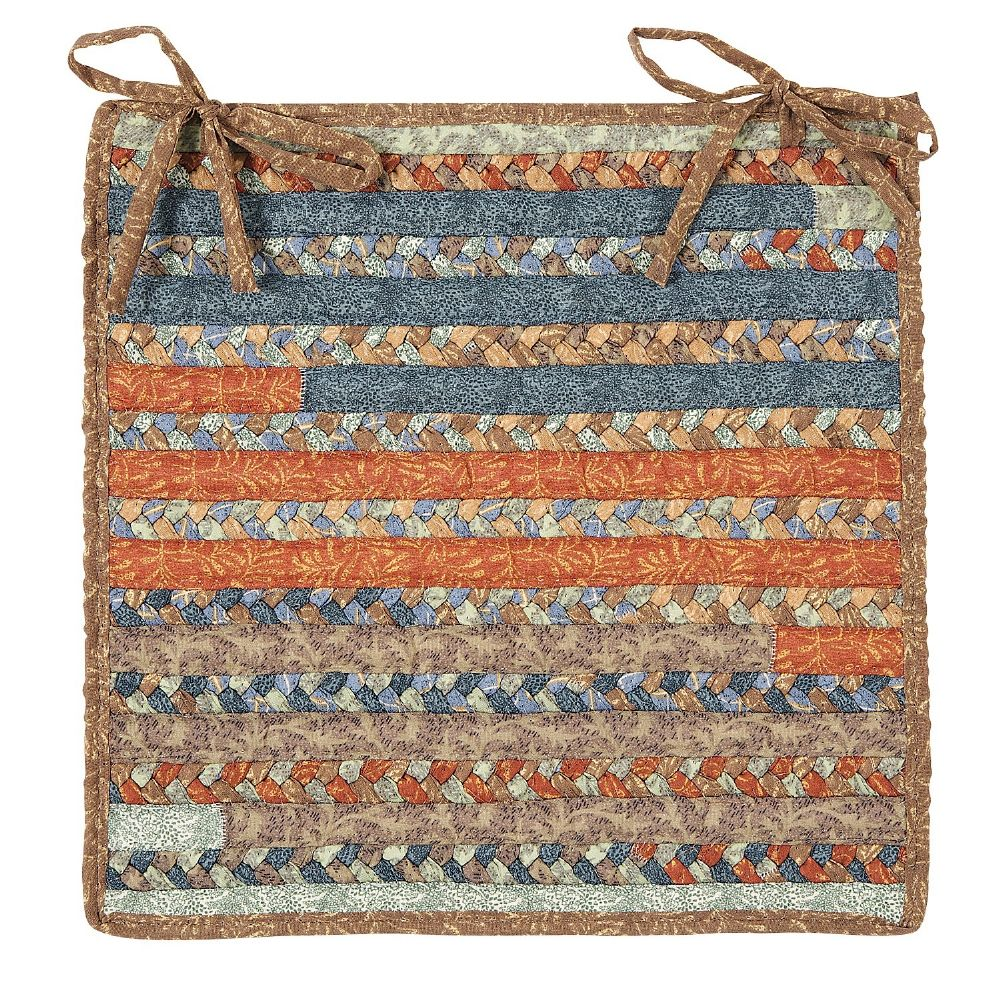 colonial mills olivera braided chair pad collection