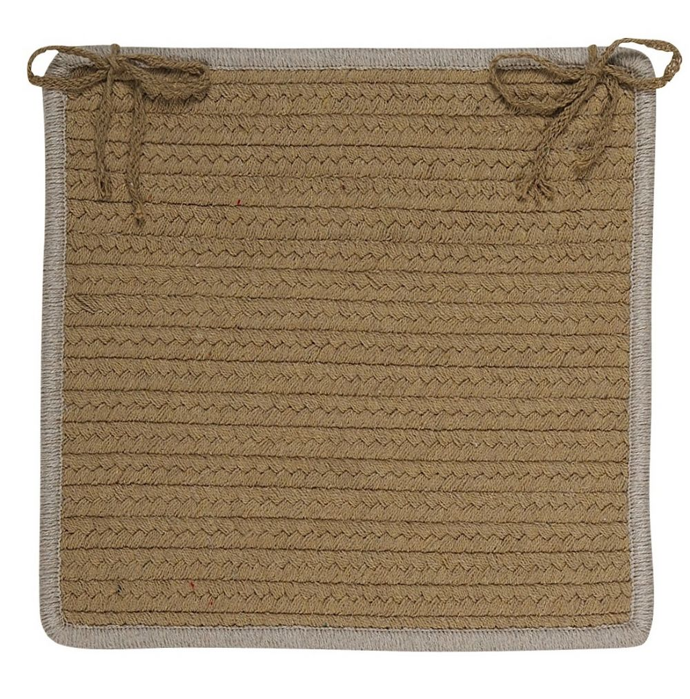 colonial mills renaissance braided chair pad collection