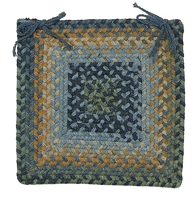 colonial mills ridgevale braided chair pad collection