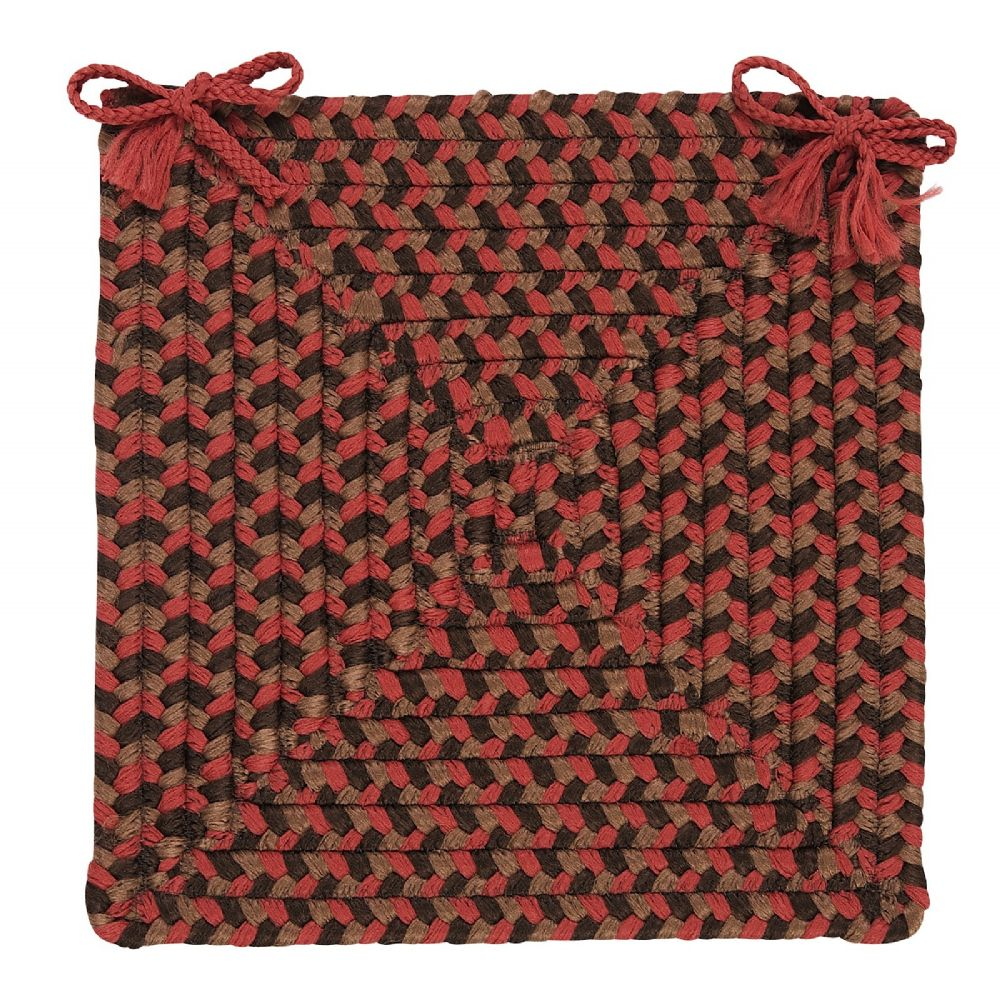 colonial mills tiburon braided chair pad collection