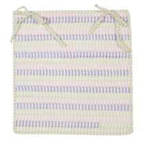 Colonial Mills Braided Ticking Stripe chair pad Collection