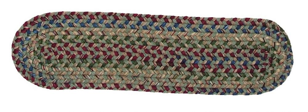 colonial mills twilight braided stair tread collection