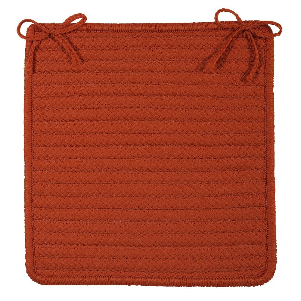 colonial mills stripe it braided chair pad collection
