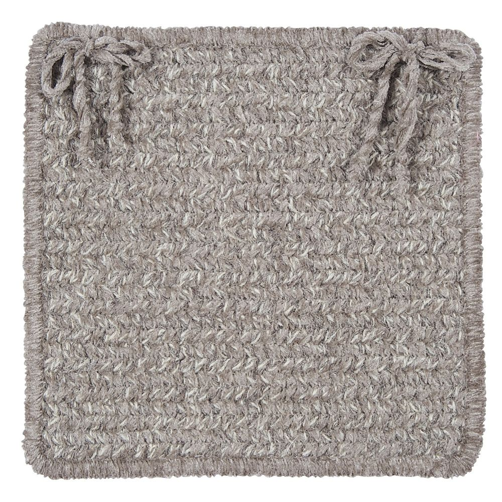 colonial mills texture-woven braided chair pad collection