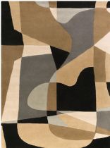 PlushMarket Contemporary Ucrilshire Area Rug Collection