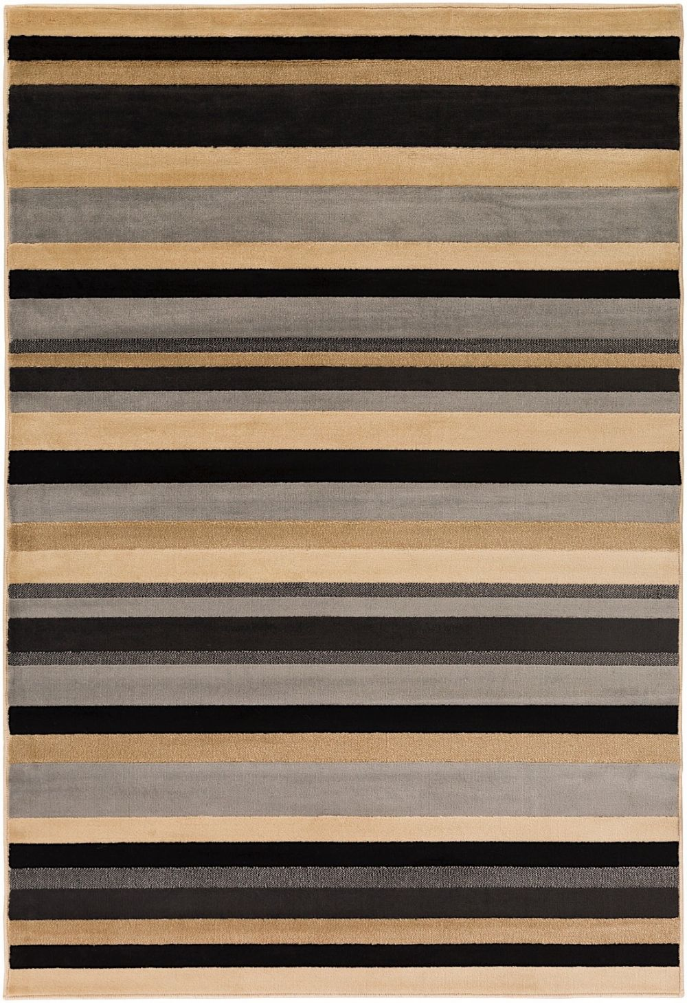 surya lenoir solid/striped area rug collection