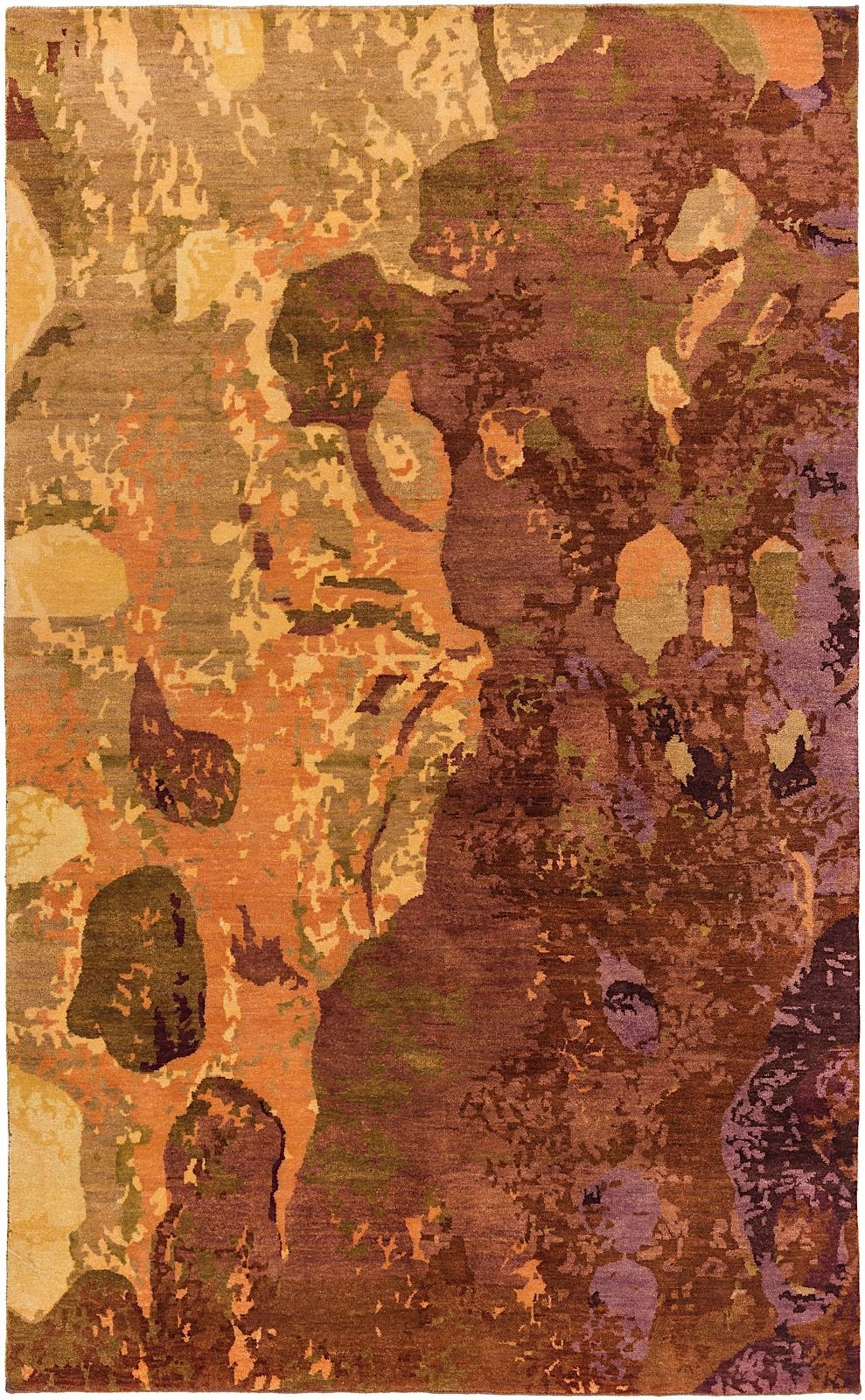 surya brought to light contemporary area rug collection