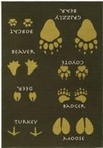 Surya Animal Inspirations Big Sky Cabin Area Rug Collection
