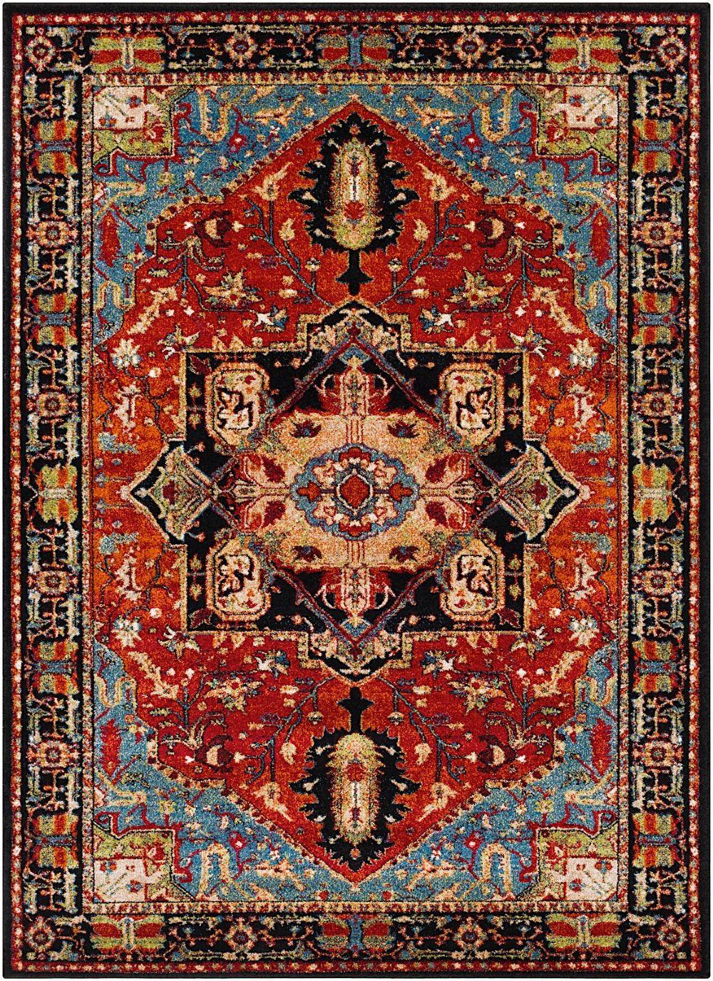 surya serapi traditional area rug collection