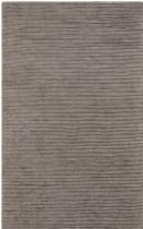 Surya Solid/Striped Graphite Area Rug Collection