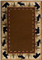 RugPal Solid/Striped Tavern Area Rug Collection