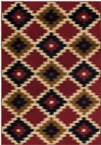 Surya Southwestern/Lodge Mountain Home Area Rug Collection