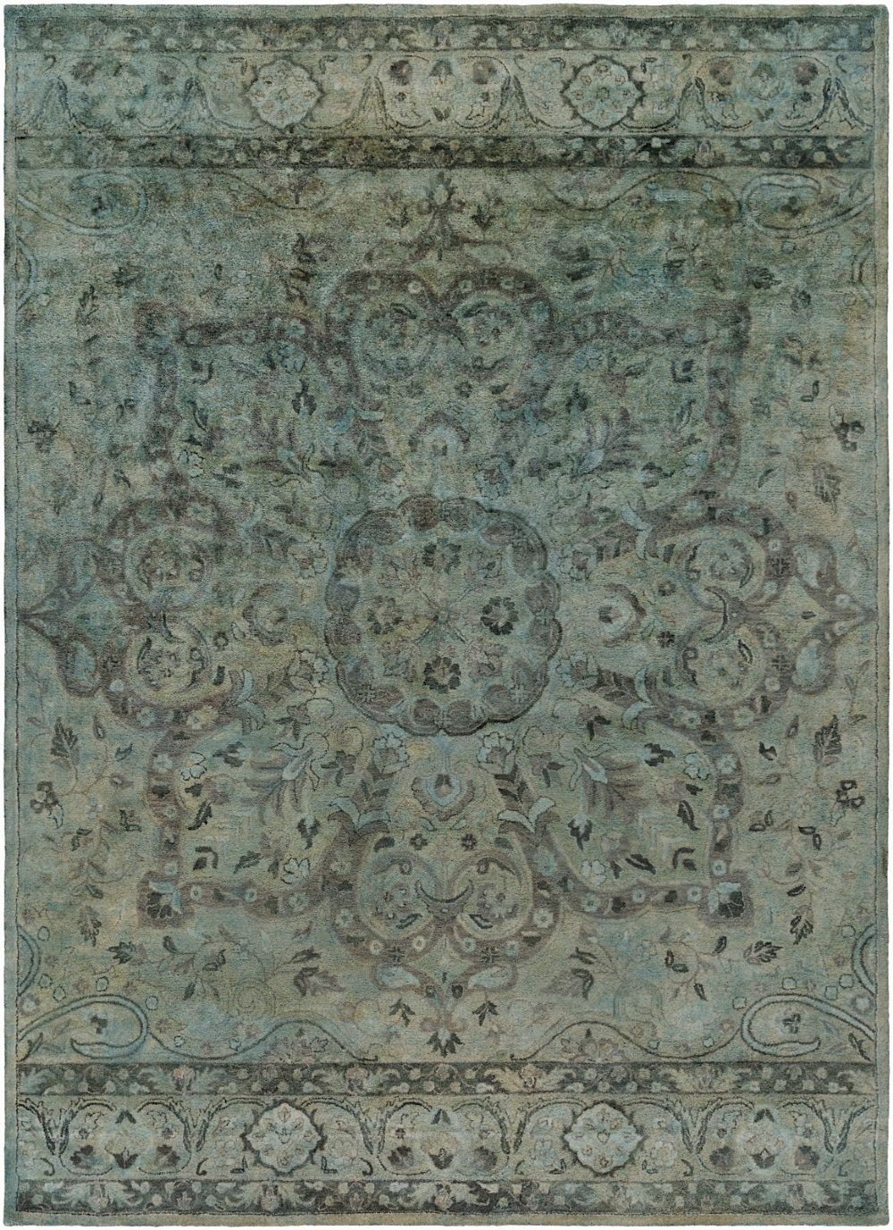 surya mykonos traditional area rug collection