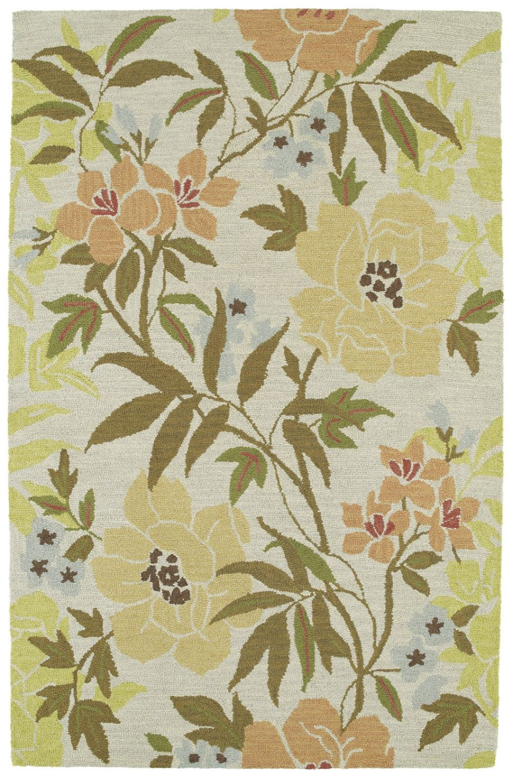 kaleen botany country & floral area rug collection
