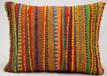 Nourison Solid/Striped Fantasia Pillow pillow Collection