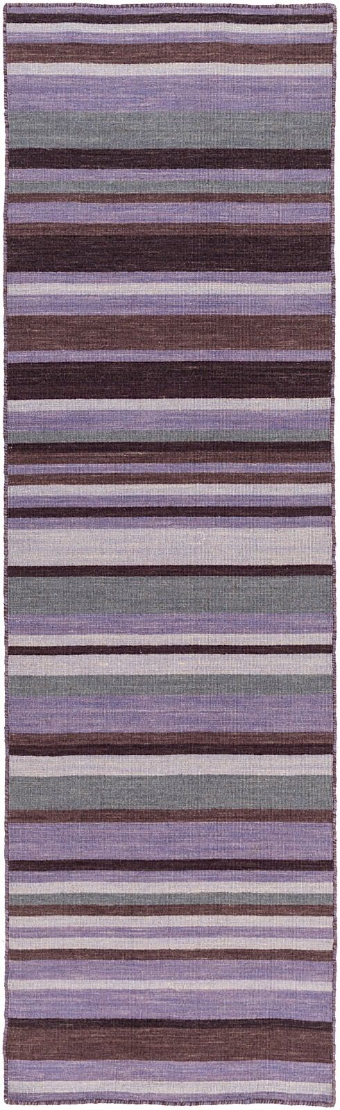 surya calvin solid/striped area rug collection